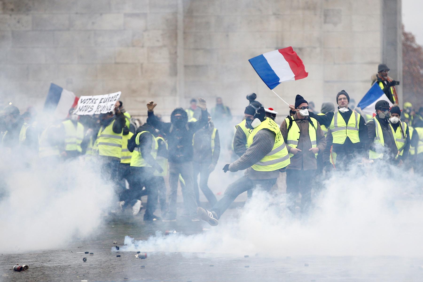 Antisemitisch incident Parijs bij protest gele hesjes