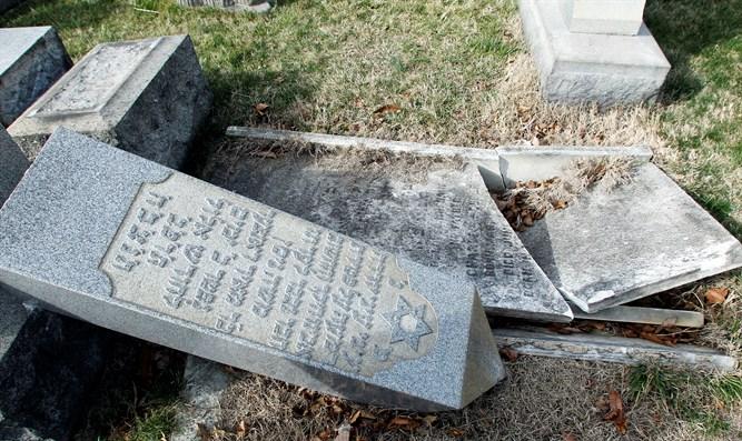 Joodse graven in Engeland vernield tijdens Grote Verzoendag