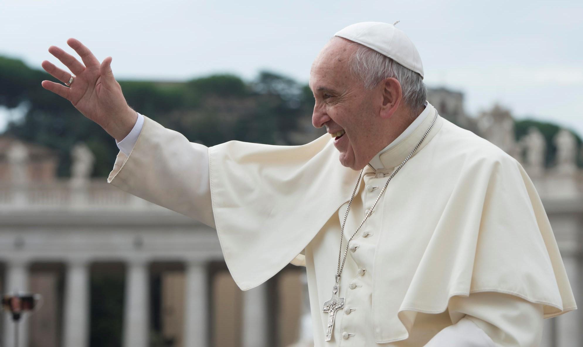 Paus waarschuwt voor hergeboorte antisemitisme