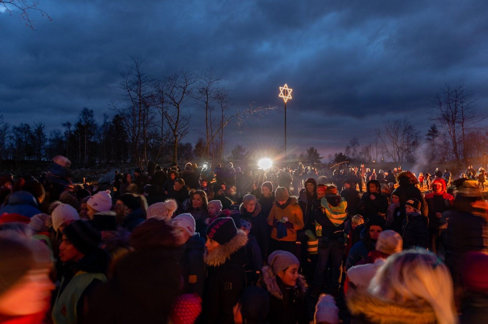 Noorse burgemeester vraagt plaatselijke kerk om Davidster te verwijderen