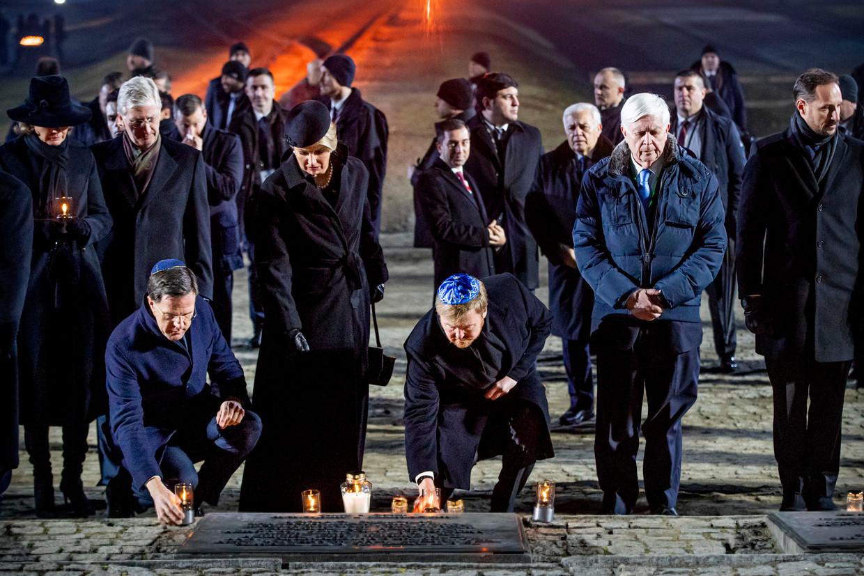 Premier Rutte biedt excuses aan voor Nederlandse houding ten aanzien Jodenvervolging