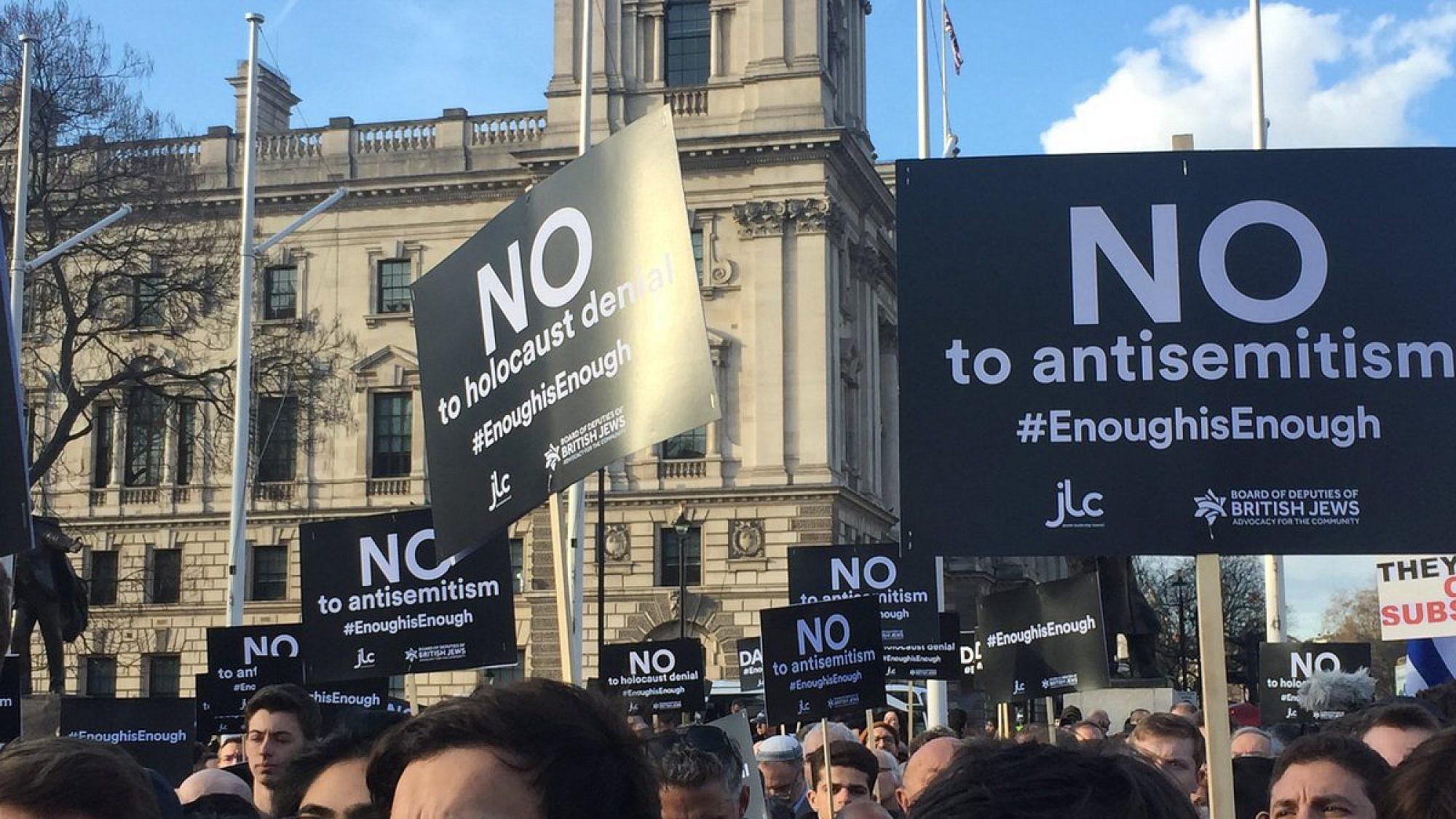 Forse stijging antisemitische incidenten in Verenigd Koninkrijk