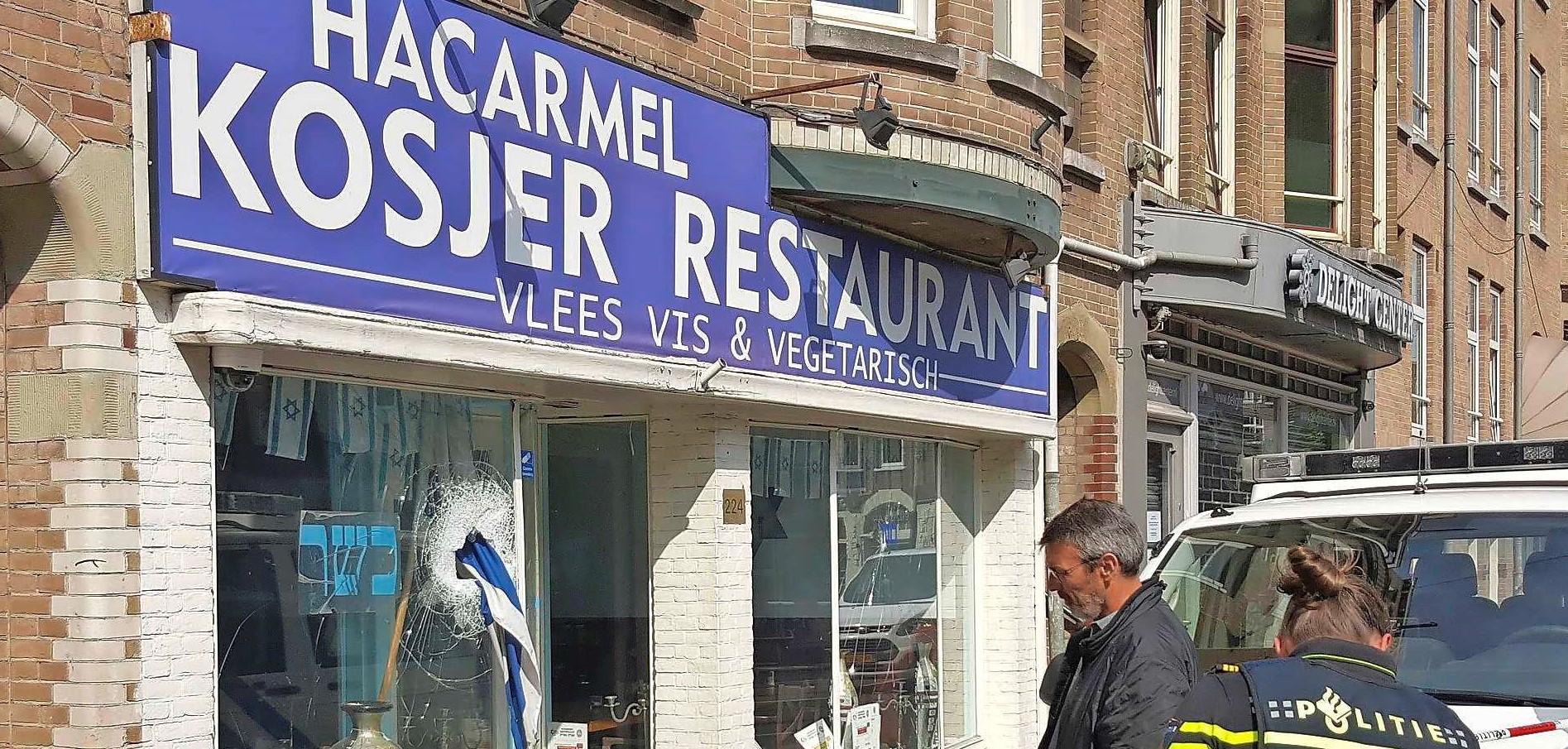 Koosjer restaurant opnieuw doelwit van antisemitisme