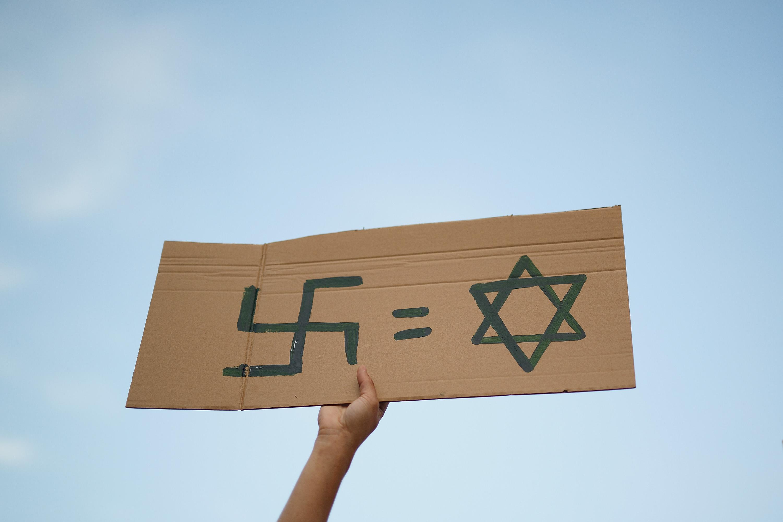 GL-kandidaat Bouchallikht nam deel aan demonstratie met antisemitische uitingen